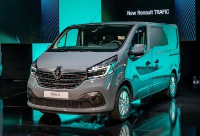 Renault Trafic | les photos officielles du nouveau fourgon