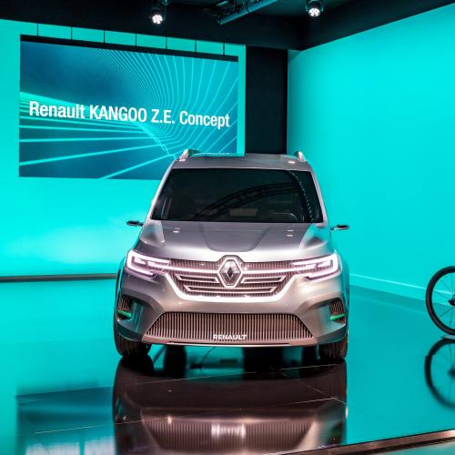 Renault Kangoo ZE Concept | les photos officielles du concept-car
