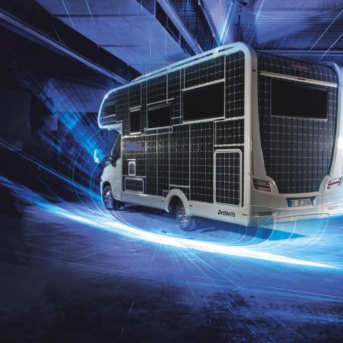 Dethleffs eHome   les photos officielles du camping-car à énergie solaire