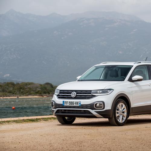 Volkswagen T-Cross | les photos officielles de l'essai en Corse