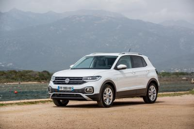 Volkswagen T-Cross | les photos officielles de l'essai en Corse