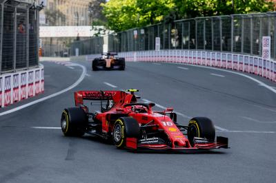 Grand Prix d'Azerbaïdjan de Formule 1 | le week-end de Ferrari en photos
