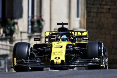 Grand Prix d'Azerbaïdjan de F1 | les photos de la course de Renault F1