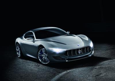 Maserati Alfieri | les photos officielles du concept