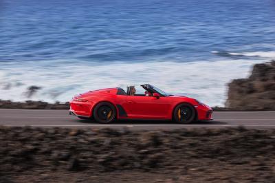 Porsche Speedster GT | les photos officielles du boxer six cylindres