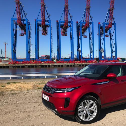 Range Rover Evoque | nos photos de l'essai à Hambourg