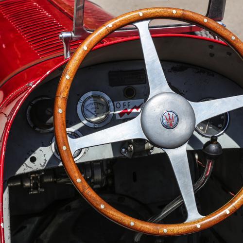 Maserati Tipo 6CM | les photos officielles du bolide qui a remporté la Targa Florio de 1939