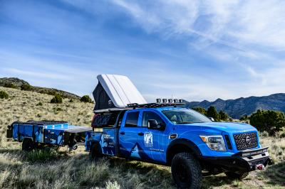 Nissan Ultimate Parks Titan | les photos officielles du pick-up dédié au Grand Canyon Service Conservancy