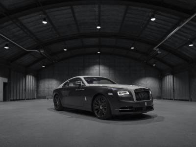 Rolls-Royce Wraith Eagle VIII | les photos officielles du coupé hommage