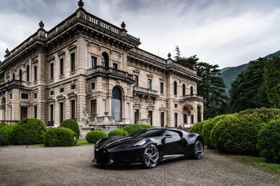 La Voiture Noire à la Villa d'Este | les photos officielles de la gagnante