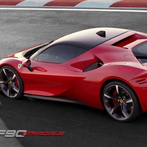 Ferrari SF90 Stradale | les photos officielles de la première Ferrari hybride rechargeable