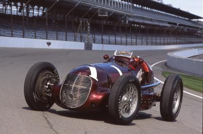 Maserati 8CTF | le Trident fête les 80 ans de sa victoire aux 500 Miles d'Indianapolis