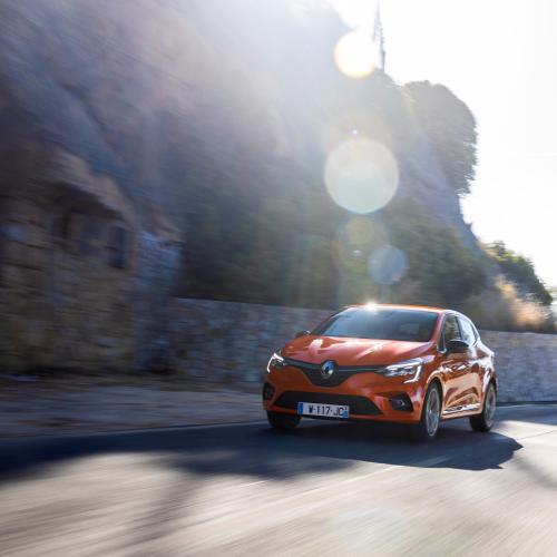 Renault Clio 5   les photos officielles de l'essai au Portugal