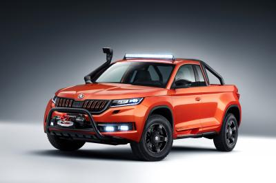 Skoda Mountiaq | les photos officielles du pick-up