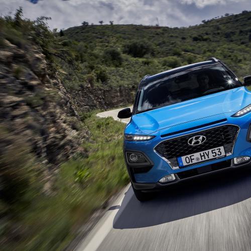 Hyundai Kona hybride   les photos officielles