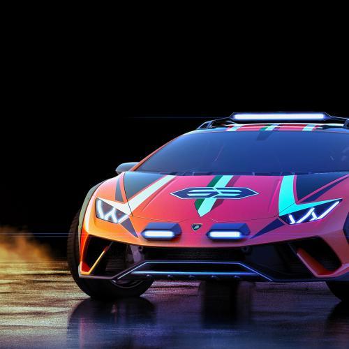 Lamborghini Sterrato   toutes les photos du concept
