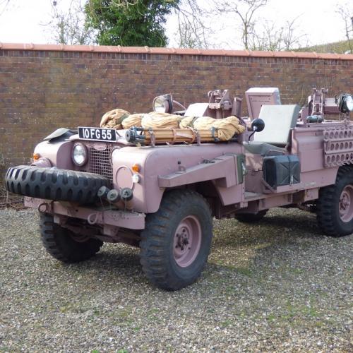 Land Rover Series 2A Pink Panther   les photos du SAS de l'armée anglaise