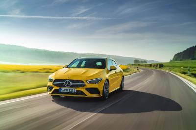 Mercedes-AMG CLA 35 Shooting Brake | les photos officielles du break de chasse sportif