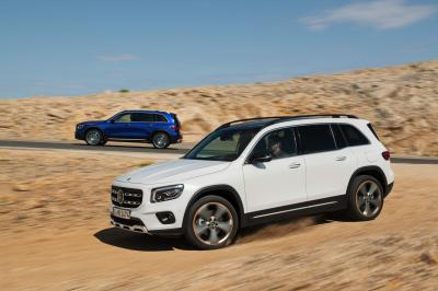 Mercedes GLB | les photos officielles du SUV 7 places