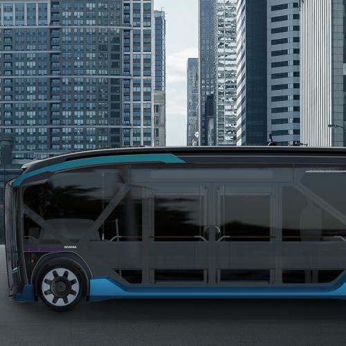Scania NXT   les photos officielles du concept de navette urbaine du futur