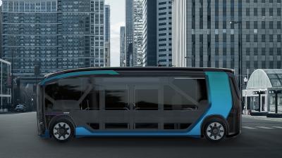 Scania NXT | les photos officielles du concept de navette urbaine du futur