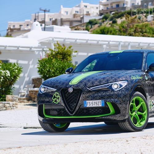 Alfa Romeo Stelvio Quadrifoglio | les photos officielles pour le rallye Gumball 3000