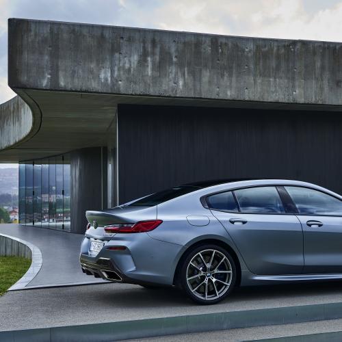 BMW Série 8 Gran Coupé | les photos officielles du coupé quatre portes