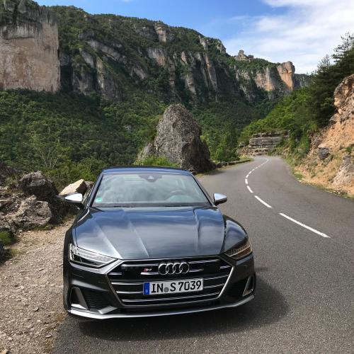 Audi S7 | nos photos de l'essai dans l'Aveyron