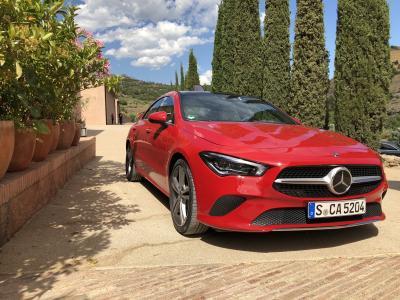 Mercedes CLA Coupé 250 | les photos de notre essai en Espagne