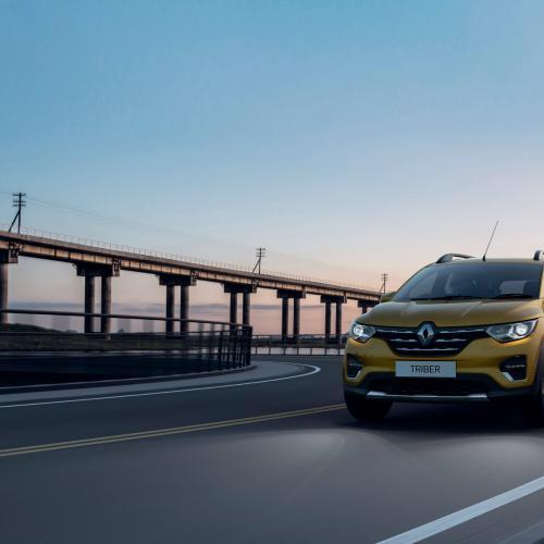 Renault Triber   les photos officielles du SUV destiné au marché indien