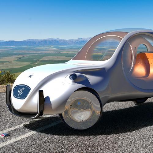 Citroën e-CV | les photos du concept de Martin Hajek