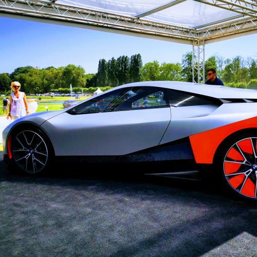 Concours d'élégance de Chantilly   nos photos de la BMW Vision M Next