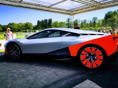 Concours d'élégance de Chantilly | nos photos de la BMW Vision M Next