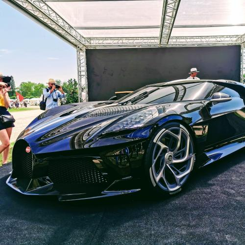 Concours d'élégance de Chantilly   nos photos de La Voiture Noire de Bugatti