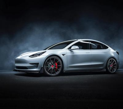Tesla Model 3 | les photos officielles du kit Vorsteiner