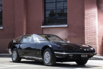 Maserati Indy Coupé | les photos officielles de la 1ère édition