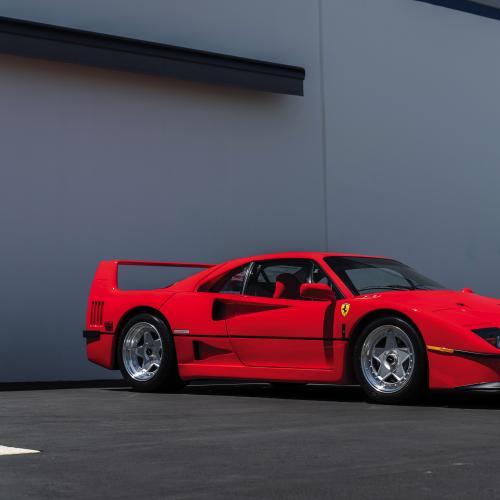Ferrari F40   Les photos officielles de la collection Ming