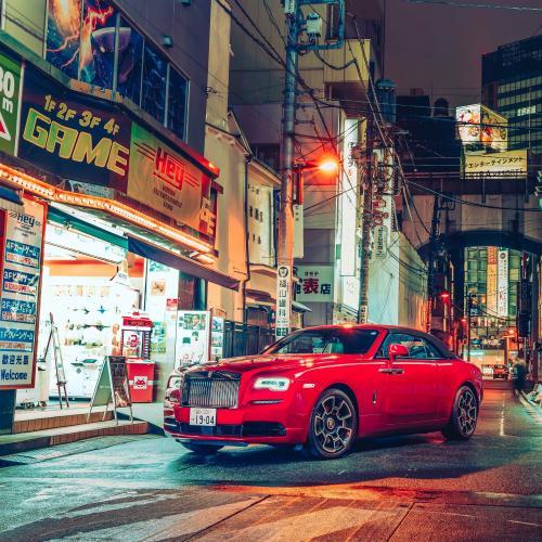 """Rolls-Royce Black Badge l Les photos du shooting """"Black Badge : Tokyo After Hours"""""""