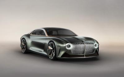 Bentley EXP 100 GT | les photos officielles du concept électrique et autonome