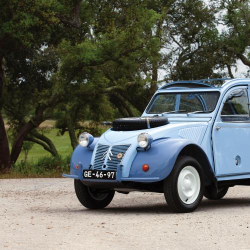 Citroën 2CV 4x4 Sahara l Toutes les photos RM Sotheby's du petit tout-terrain bi-moteur