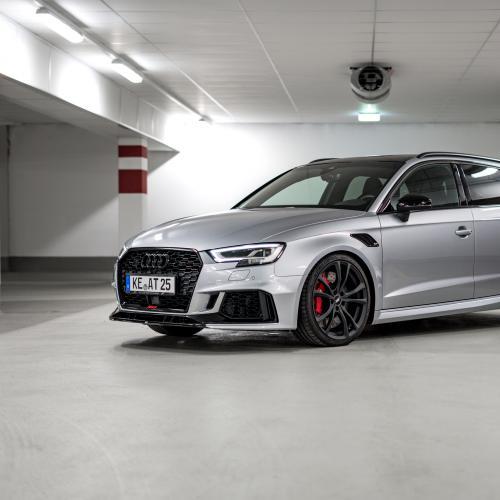 Audi RS3 ABT Sportsline l Les photos officielles du kit de préparation sur la berline compacte sportive