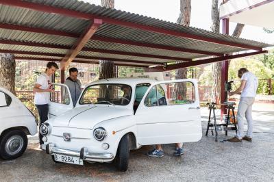 Seat 600 électrique l Le projet de lycéens espagnols en photos