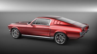 Aviar R67 l Les photos officielles de la Ford Mustang russe électrique