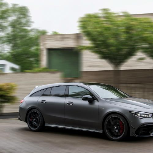 Mercedes-AMG CLA 45 Shooting Break l Les photos officielles du break de chasse