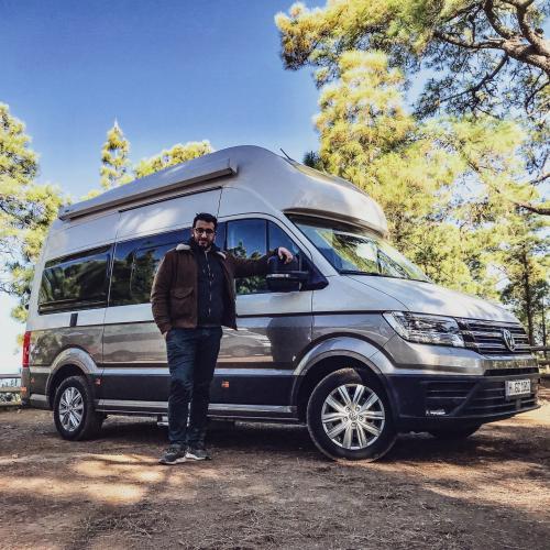 Volkswagen Grand California | les photos officielles de l'essai du van
