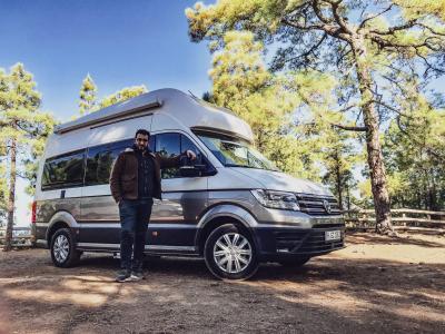 Volkswagen Grand California   les photos officielles de l'essai du van
