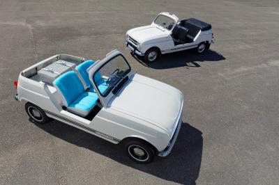 Renault e-Plein Air | les photos du concept de 4L électrique