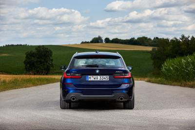 Nouvelle BMW Série 3 Touring : les photos de l'essai