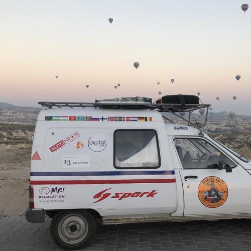 Mongol Rally 2019 : en route vers l'Iran !