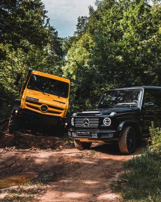 Mercedes Classe G et Unimog | Les photos officielles des retrouvailles entre les deux légendes